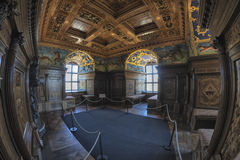 Old vintage castle room. In Kalmar castle, Sweden Royalty Free Stock Photography