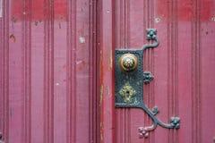 Old vintage church door handle Stock Photography