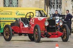 Old vintage classic car itala Stock Image