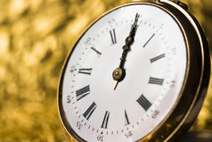 Old vintage clock Royalty Free Stock Image