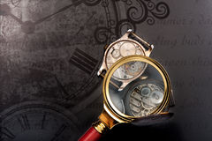 Old vintage clocks Stock Photo