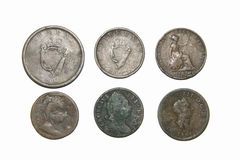 Old Vintage Coins Royalty Free Stock Photos