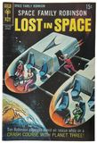 Old Vintage Comic Book, Lost in Space Royalty Free Stock Images