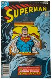 Old Vintage Comic Book, Superman. Old vintage comic book. Superman, the man of steel, and his secret identity, have adventure as they fight crime with super stock photos