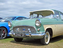 Old vintage consul classic. Photo of a old vintage classic consul appearing at whitstable outdoor car show on 16th july 2017 Royalty Free Stock Image