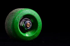 Old Vintage Consumed Skate Wheel Stock Photography