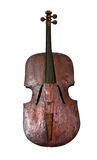 Old vintage contrabass Stock Photo