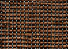 The old and vintage  copper wire of microcircuit Royalty Free Stock Images