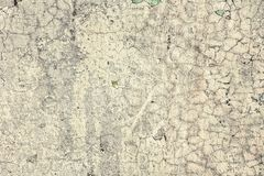 Old vintage cracked wall. Can be used as background Royalty Free Stock Photography