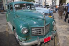 Old vintage Cuban Car Royalty Free Stock Images