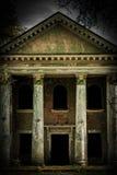 Old vintage damaged grunge building insagram Stock Image