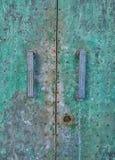 Old vintage door. An old door closeup Stock Photography