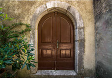 Old vintage  door Royalty Free Stock Photography