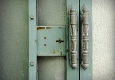 Old vintage door knob closeup photo image Royalty Free Stock Photography