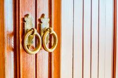 Old vintage door knob Royalty Free Stock Photos