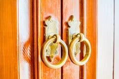 Old vintage door knob Royalty Free Stock Photo