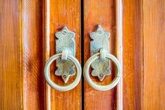 Old vintage door knob Royalty Free Stock Image