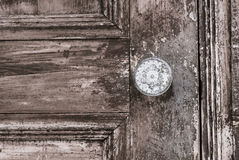An old vintage door knob Royalty Free Stock Image