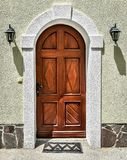 Old vintage doors Stock Photography