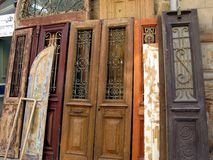 Old vintage doors Stock Image