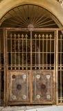 Old Vintage double door in Old Jaffa, Israel Royalty Free Stock Image