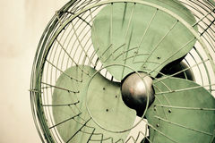 Old vintage electric fan Stock Photos