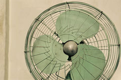 Old vintage electric fan. Thailand Stock Photography