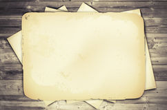 Old Vintage Empty Paper Royalty Free Stock Image