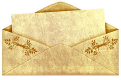 Old vintage envelope Stock Photo