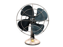 Old vintage fan Stock Photography