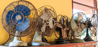 Old vintage fan Royalty Free Stock Photography