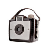 Old vintage film camera Stock Image