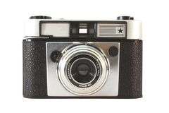 Old, vintage film camera Stock Image