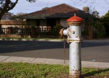 Old vintage fire hydrant royalty free stock photos