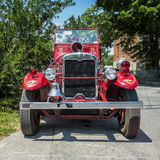 Old vintage fire truck Royalty Free Stock Photo