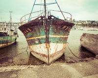 Old Vintage Fishing Boat Royalty Free Stock Photo