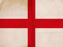Old Vintage Flag England Stock Image