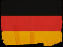 Old Vintage Flag Germany Stock Photography