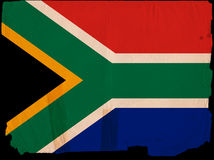 Old Vintage Flag Southafrica Royalty Free Stock Image