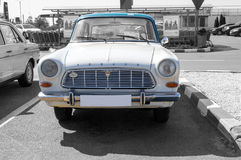 Old vintage Ford Taunus 12M P4 (1962–1966) - selective color isolation Stock Image