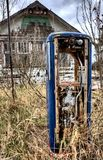 Old Vintage Gas Pump Royalty Free Stock Photo