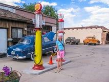 Williams Town Arizona stock photography