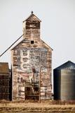 Old Vintage Grain Elevator. Saskatchewan Canada Royalty Free Stock Photography