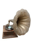 Old vintage gramophone. Retro-styled, entertainment, old-fashioned Stock Images