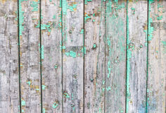Old vintage green board of the rails,  texture Stock Photos