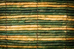 Old vintage green Rope Stock Photos