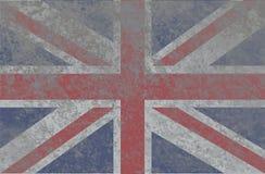 Grunge National Flag of England royalty free stock photography