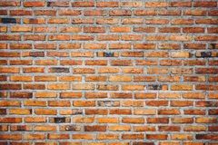 Old vintage grunge red brick wall texture background Royalty Free Stock Image