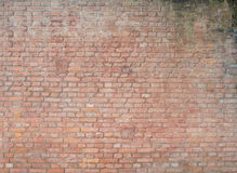 Old vintage grunge urban street rusty brickwall Stock Images