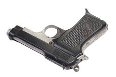 Old vintage handgun Stock Image